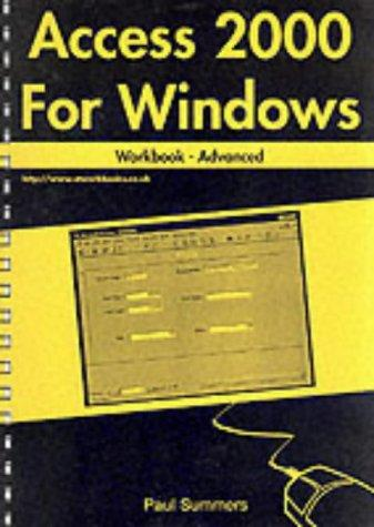 Access 2000 for Windows Workbook