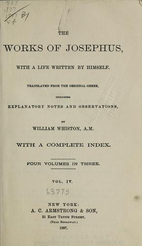 Download The works of Josephus