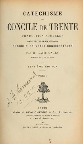 Download Catéchisme du Concile de Trente