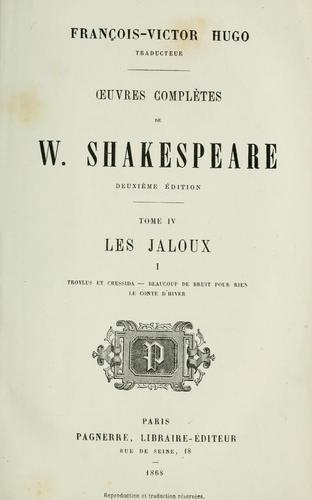 Œuvres completes by William Shakespeare