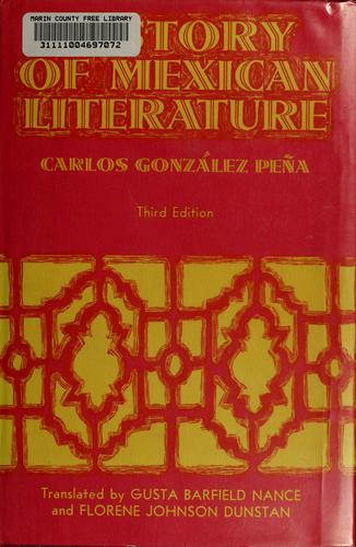 History of Mexican literature.