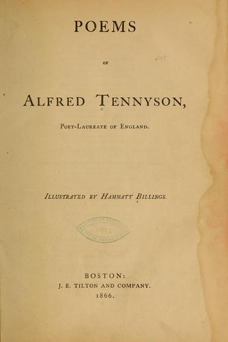 Download The poems of Alfred Tennyson