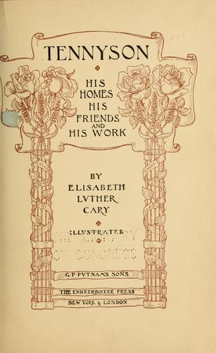 Download Tennyson
