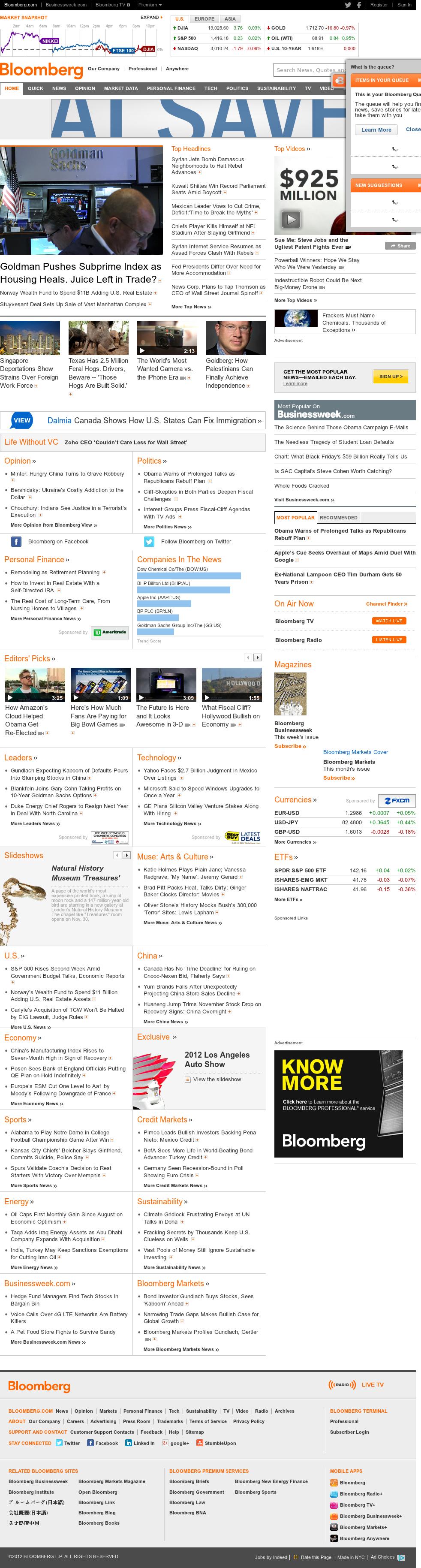 Bloomberg at Sunday Dec. 2, 2012, 2:02 p.m. UTC