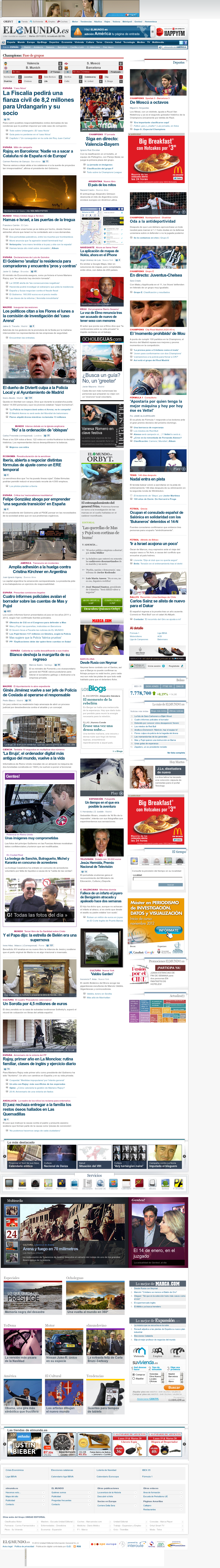El Mundo at Tuesday Nov. 20, 2012, 9:21 p.m. UTC