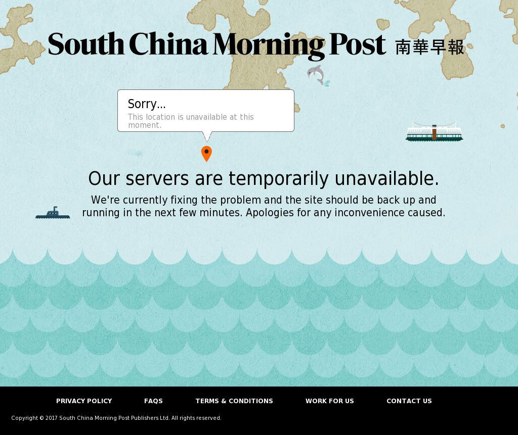 South China Morning Post at Tuesday Oct. 10, 2017, 1:17 p.m. UTC