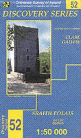 Clare, Galway (Irish Discovery Maps Series)