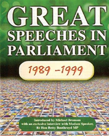 Great Speeches in Parliament