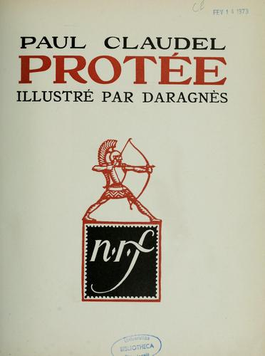 Protée by Paul Claudel