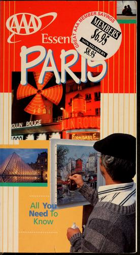 Essential Paris by Elisabeth Morris