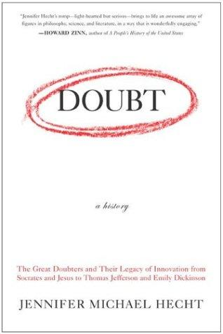 Doubt: A History by Jennifer Michael Hecht