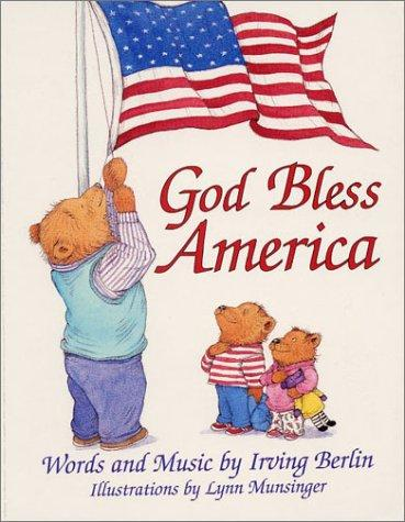 God Bless America Board Book by Irving Berlin