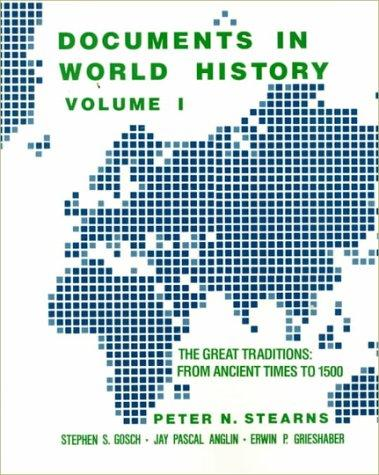 Documents in World History by Peter N. Stearns